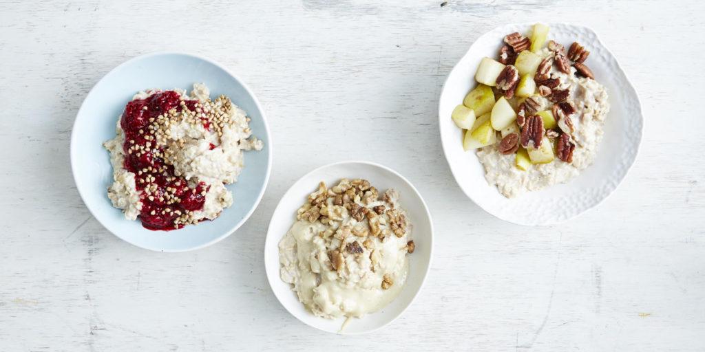 I Quit Sugar: Porridge 3 Ways