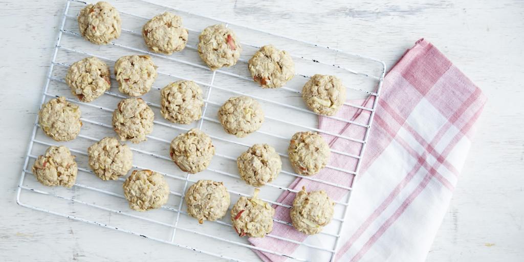 I Quit Sugar: Apple Bircher Breakfast Cookies