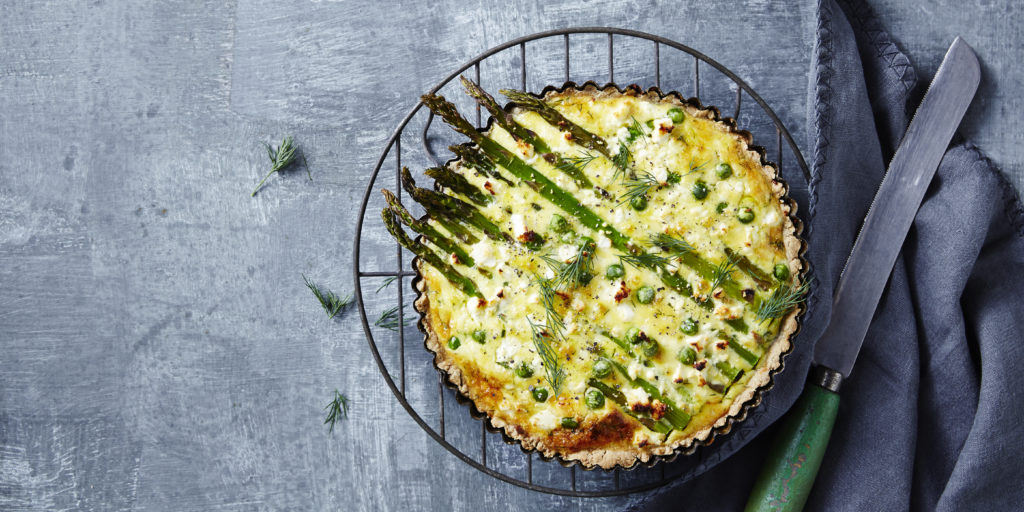 Keys2words - Loaded Spring Vegetable Pie