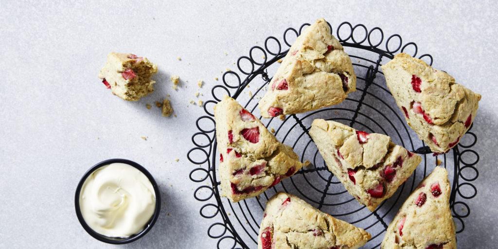 I Quit Sugar: Strawberry Gum Scones