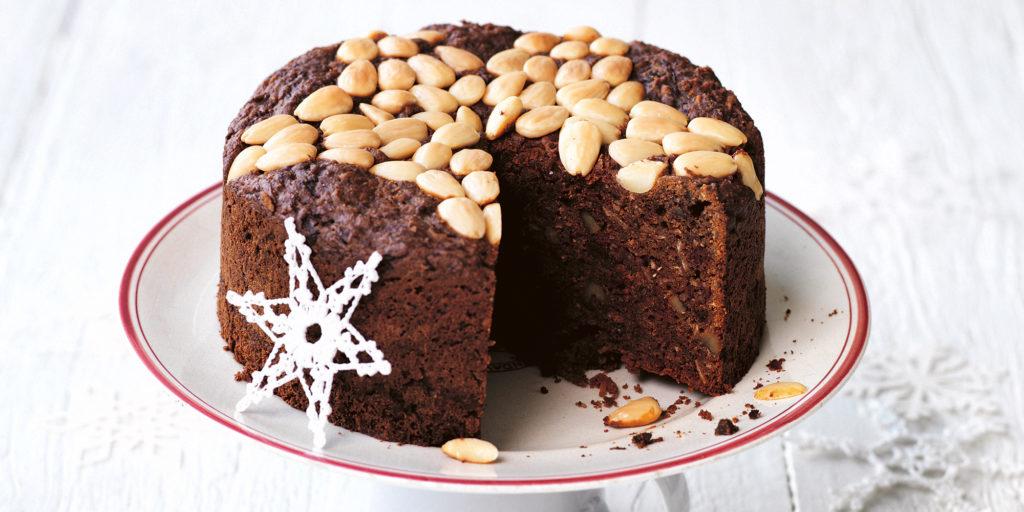 Sugar-free Christmas Cake