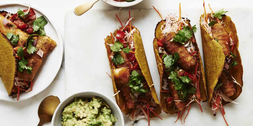 Spiced Fish Tacos