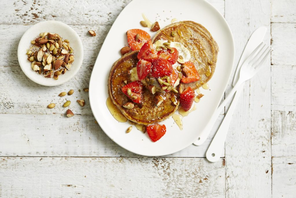 I Quit Sugar - Protein Packed Pancakes