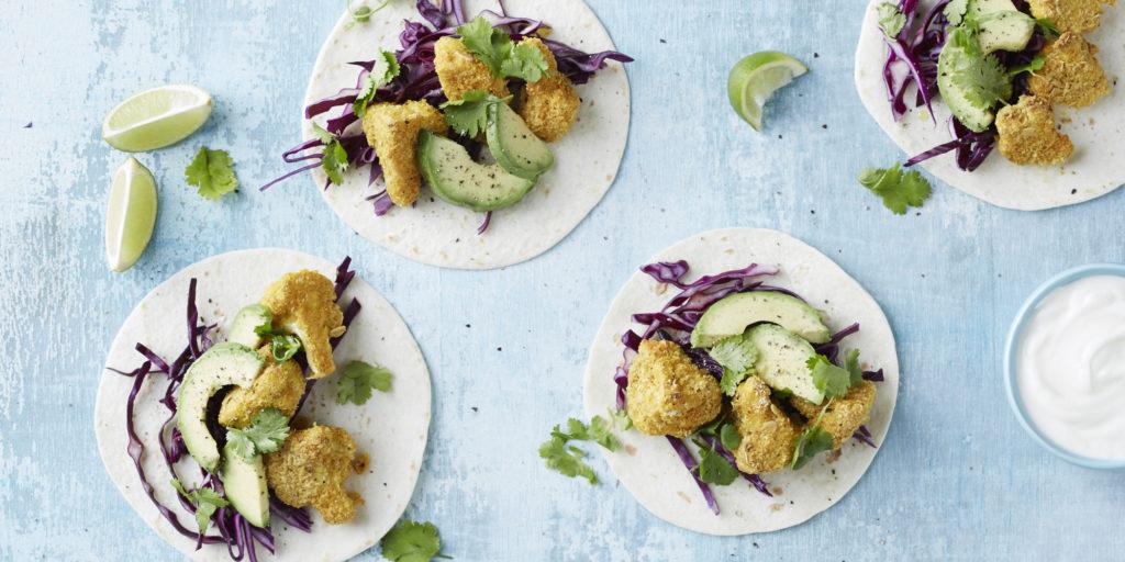 I Quit Sugar - Crispy Cauliflower Tacos
