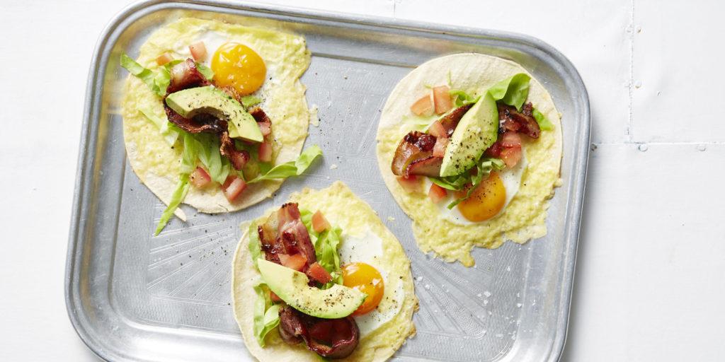 I Quit Sugar - BLAT Breakfast Tacos