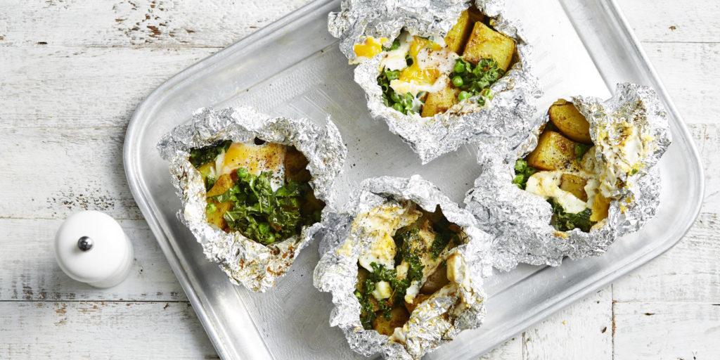 I Quit Sugar - Indian Baked Potato Pockets