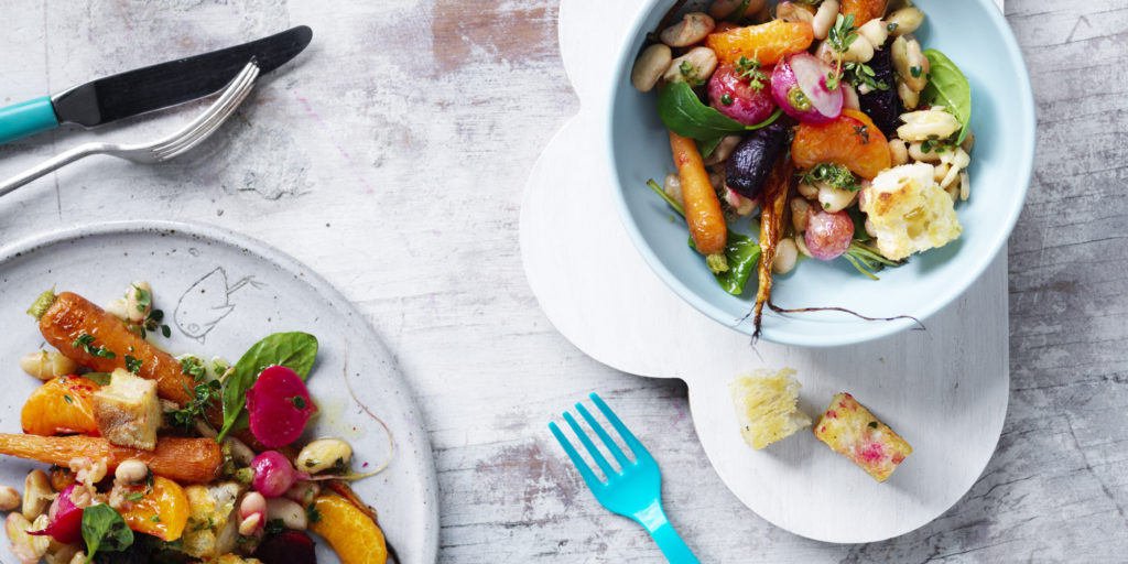 I Quit Sugar - Winter Root Vegetable Panzanella