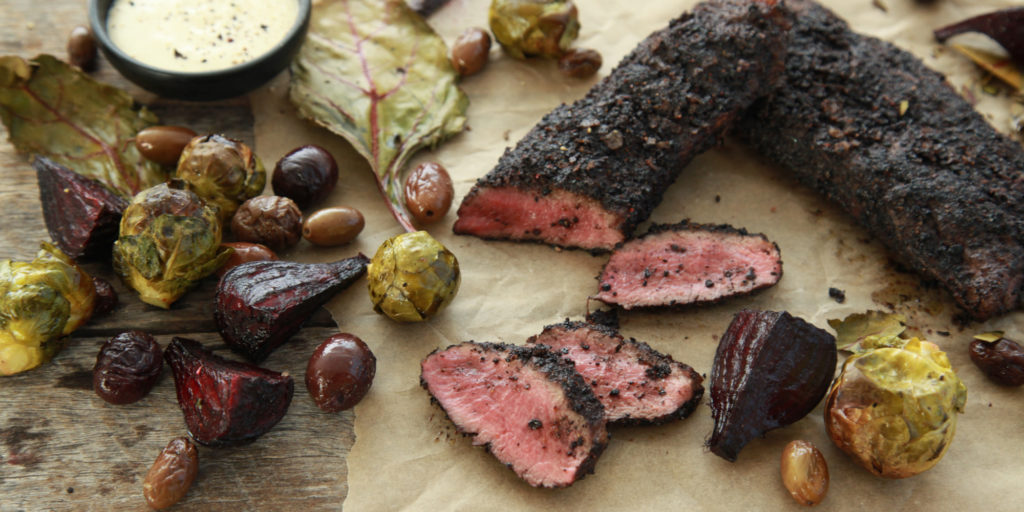 I Quit Sugar - Mountain Pepper + Wattleseed Rubbed Lamb