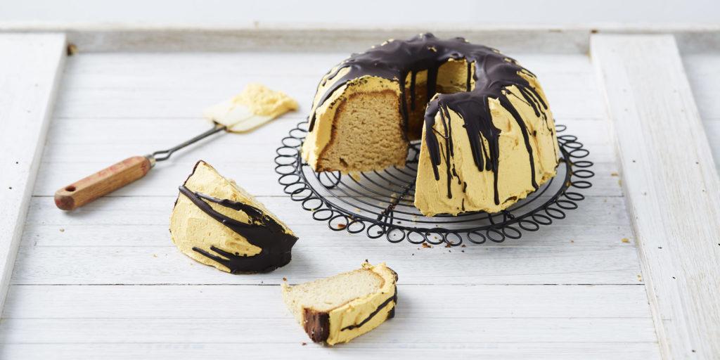 I Quit Sugar - Jack O Lantern Bundt Cake