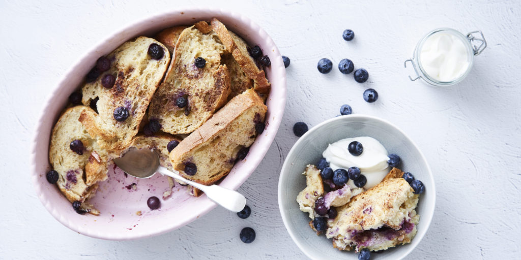 I Quit Sugar - Bread 'n' Butter-berry Pudding