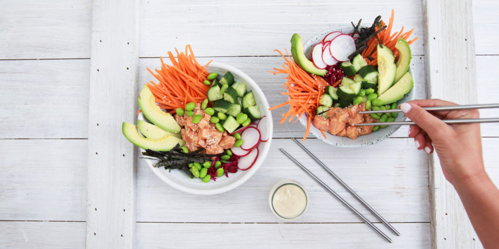 I Quit Sugar - Protein-Packed Poke Bowl