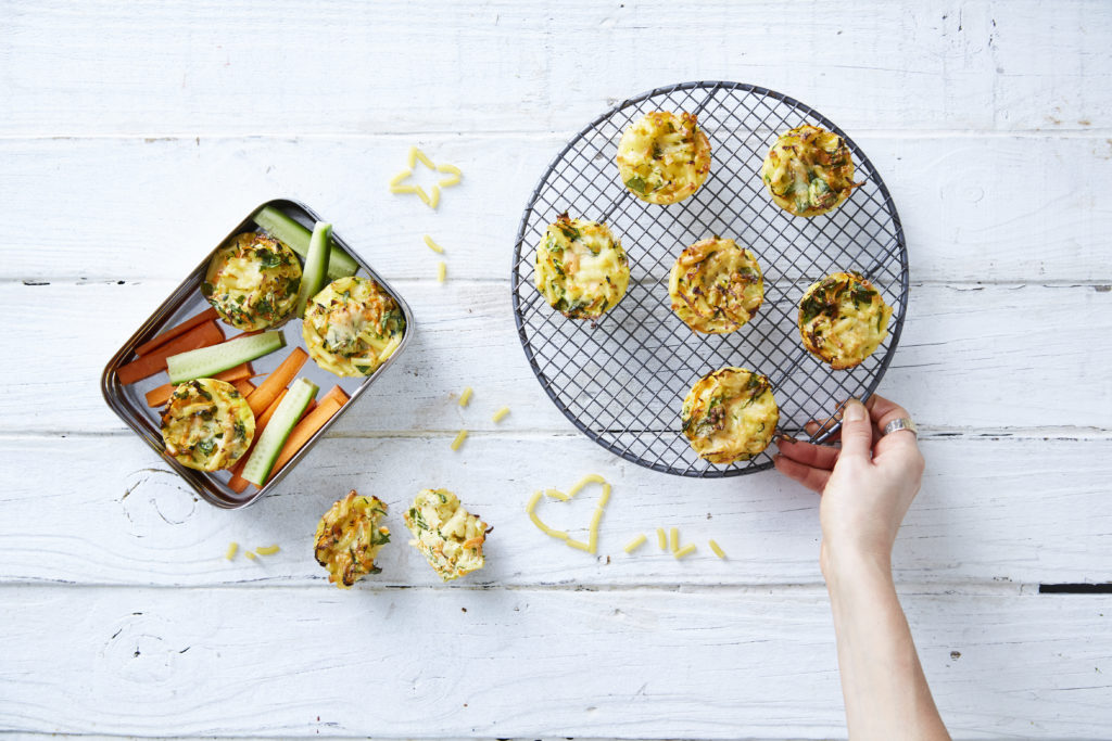 I Quit Sugar - Lunchbox Mac 'n' Cheese Muffins