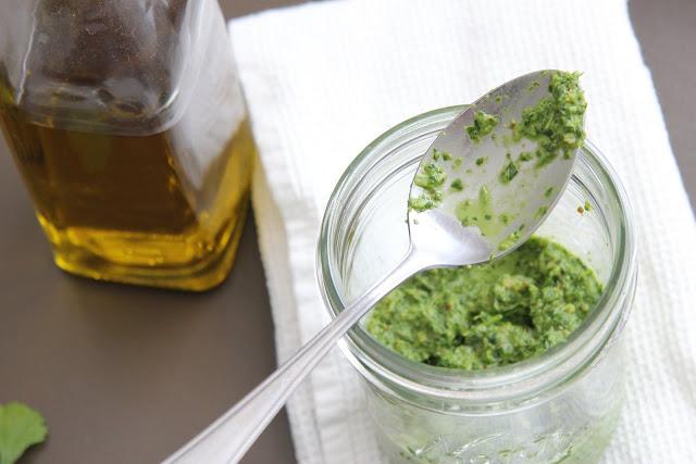 8WP - Recipes - Sauces - Coriander Pesto
