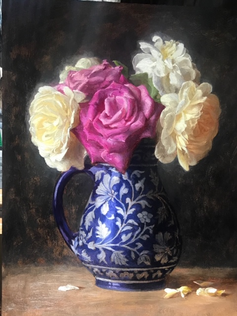 Painting Flowers from Life in Oil | Andrew Bonneau