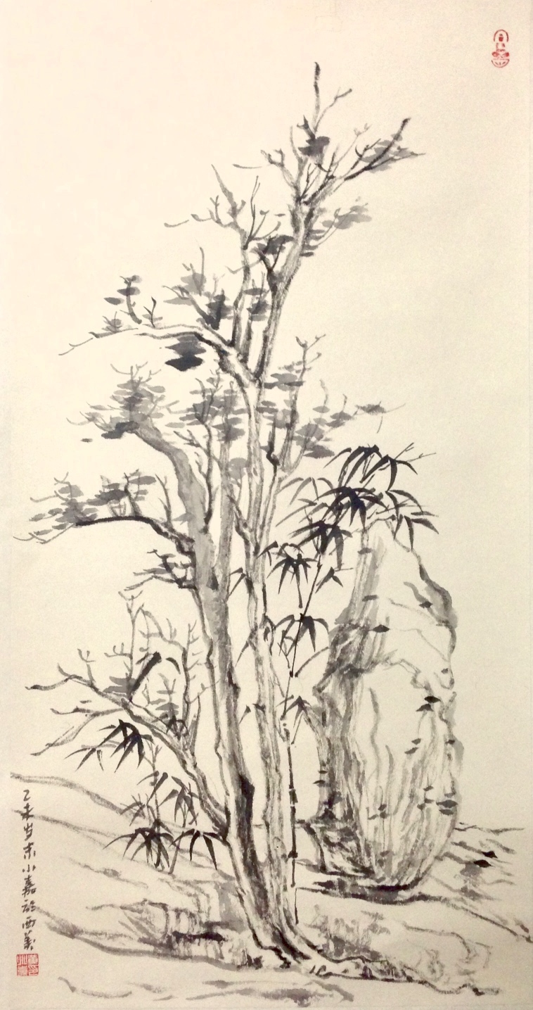 Chinese Ink Brush Painting | Silka Huang