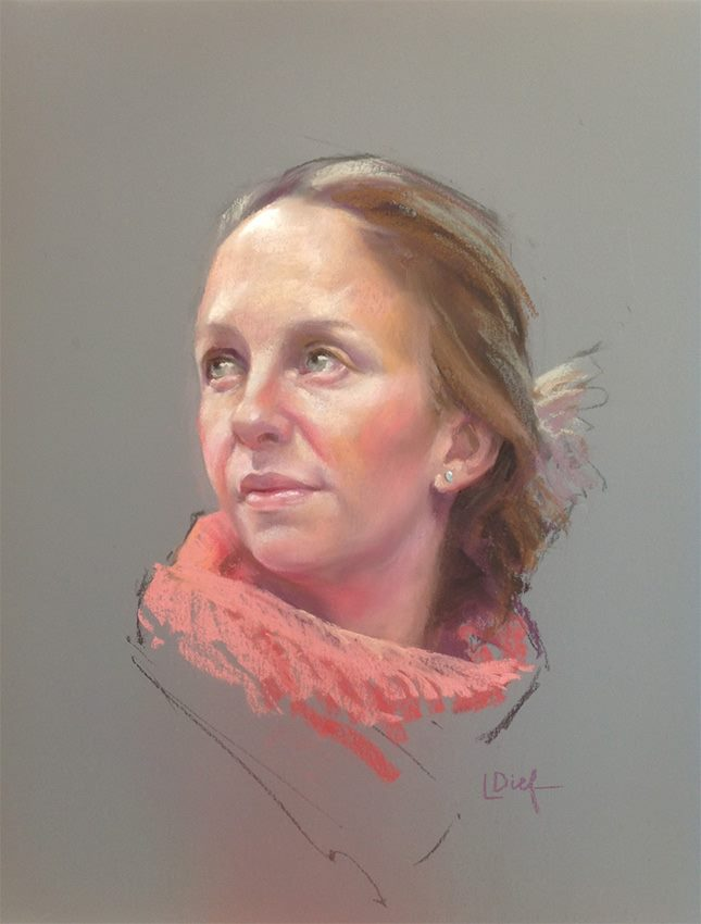 Portrait in Pastels Demo | Lyn Diefenbach