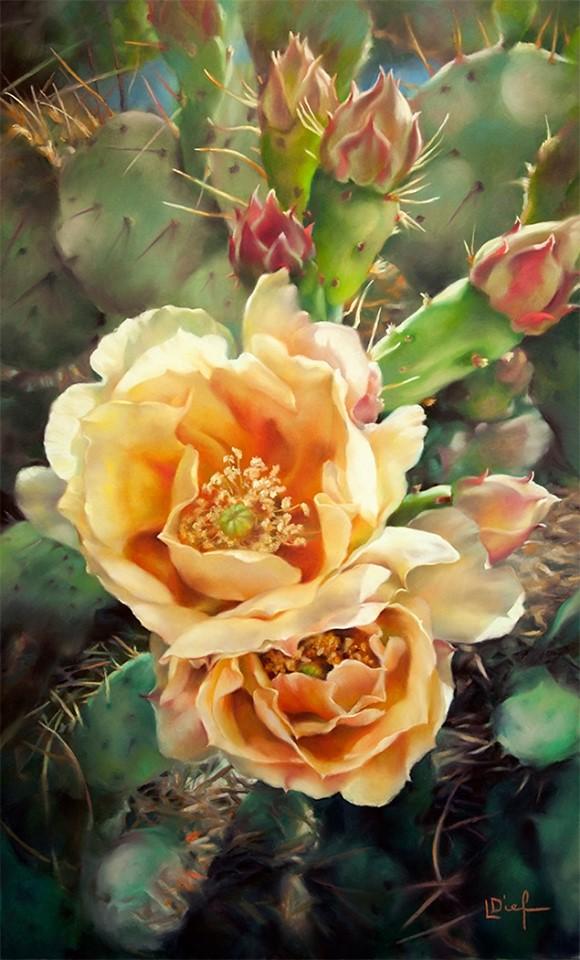Flowers in Pastels | Lyn Diefenbach