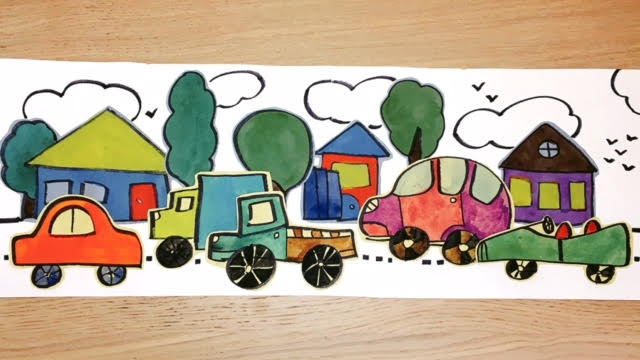 Drawing and Collage | Ages 7 - 10