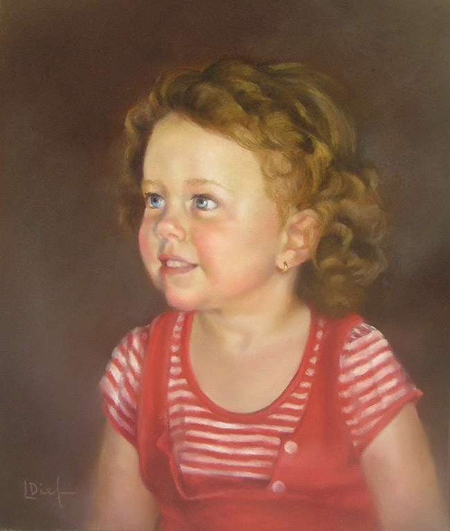 Portrait in Oils | Pastels | Mentoring | Lyn Diefenbach