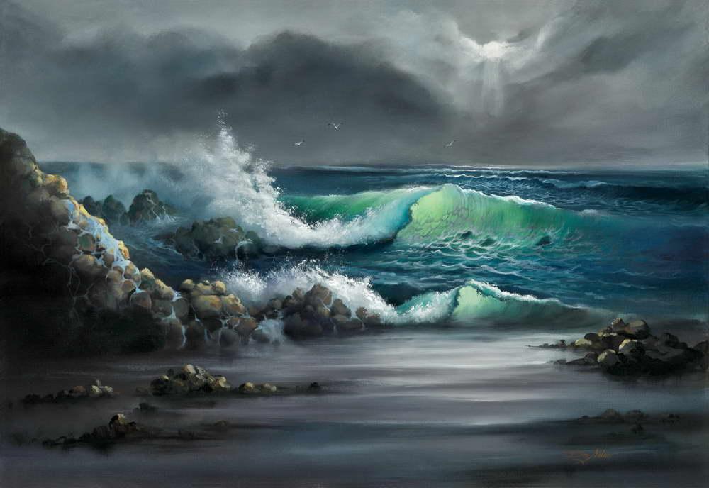 Seascape Scenes in Acrylics | Don  Milner