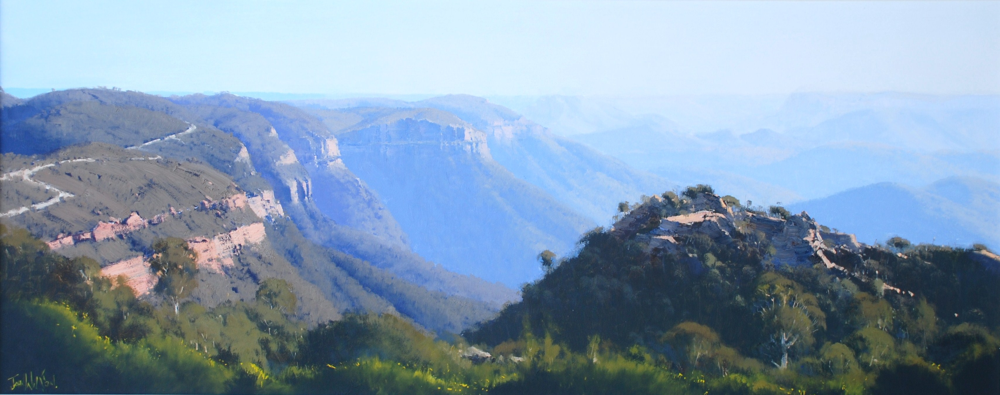 Australian Landscape in Oils - Plein air with John Wilson