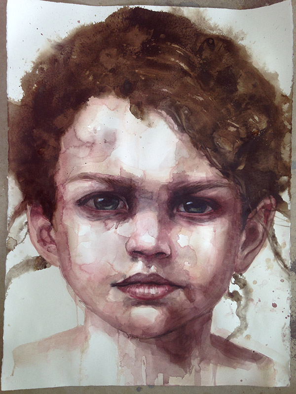 Watercolour Portraits with Archibald winner Cherry Hood