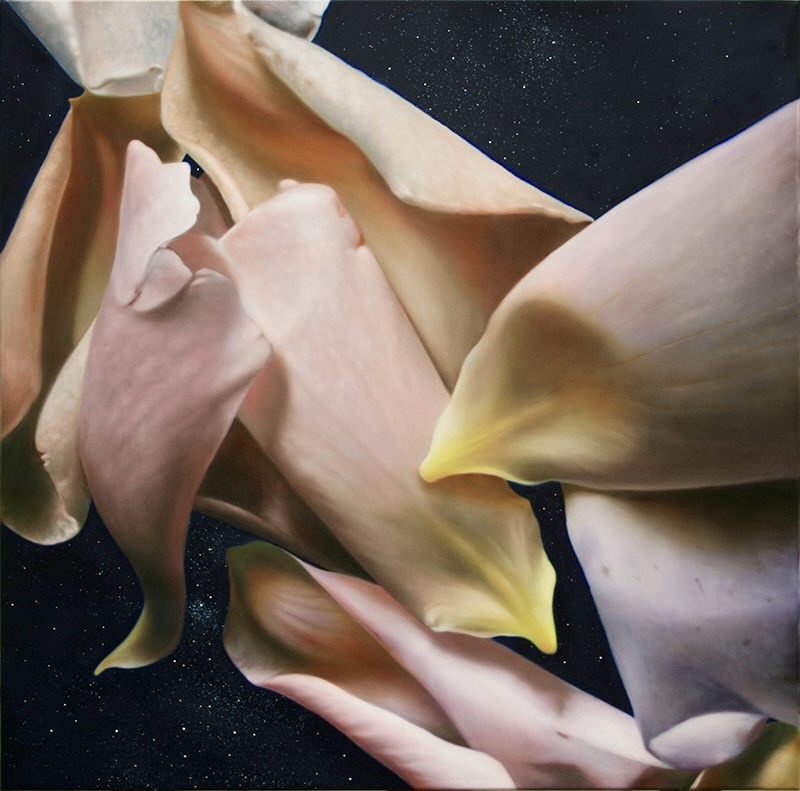Luminous Flowers and Glazing in Oils 5 Days | Marcel Desbiens