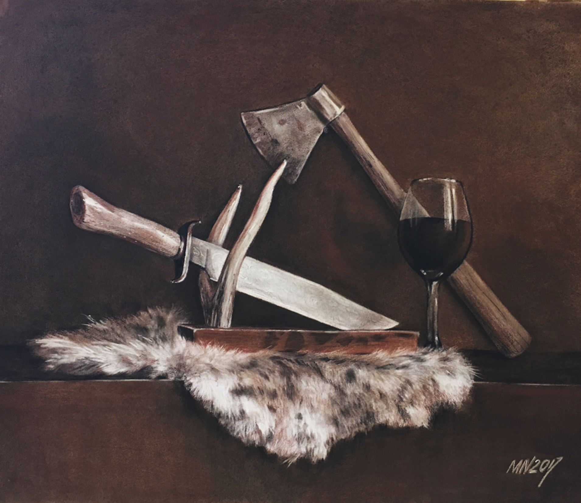 Drawing Still Life | Maria Nazyrova