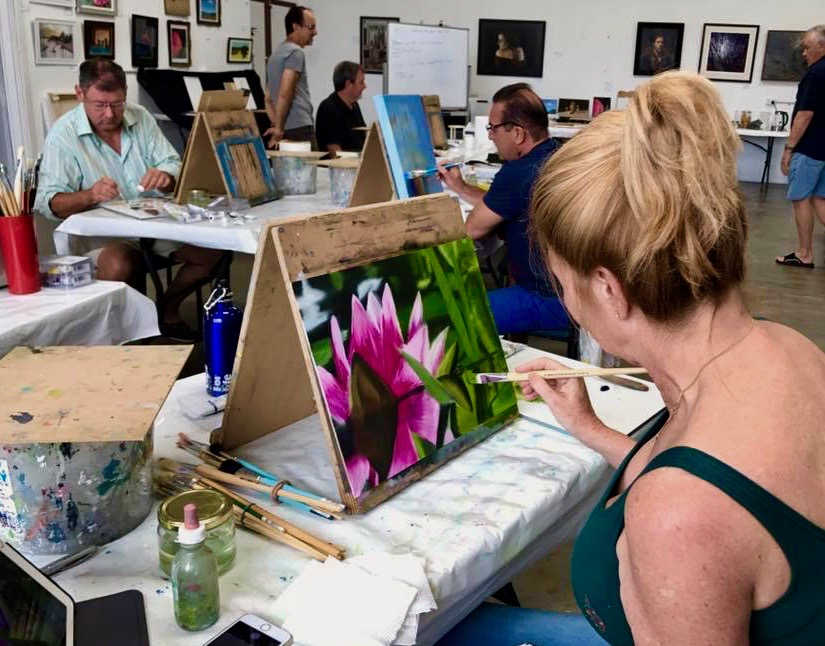 Untutored Studio Painting