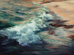 Seascape in Pastels | Lyn Diefenbach