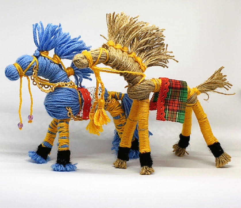 Make a Horse with Yarn | Ages 7 - 10