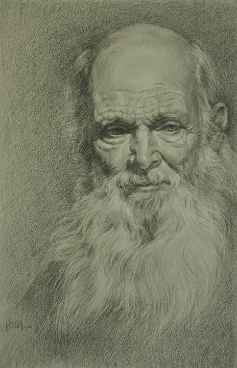 Portrait Drawing in Graphite | Lyn Diefenbach
