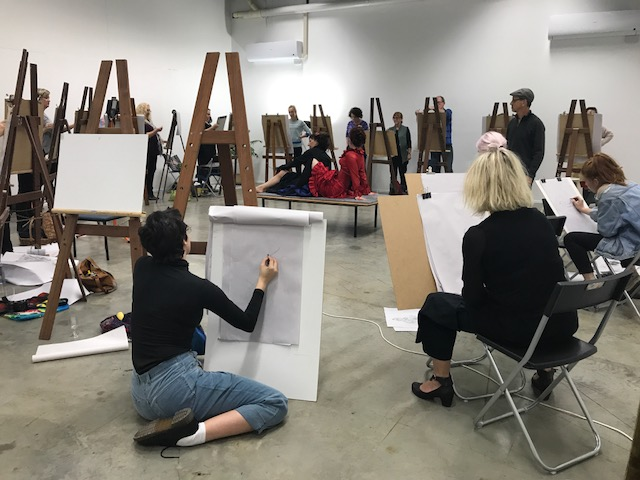 Untutored Clothed Life Drawing