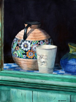 Still Life Painting in Watercolour | Jan Lawnikanis