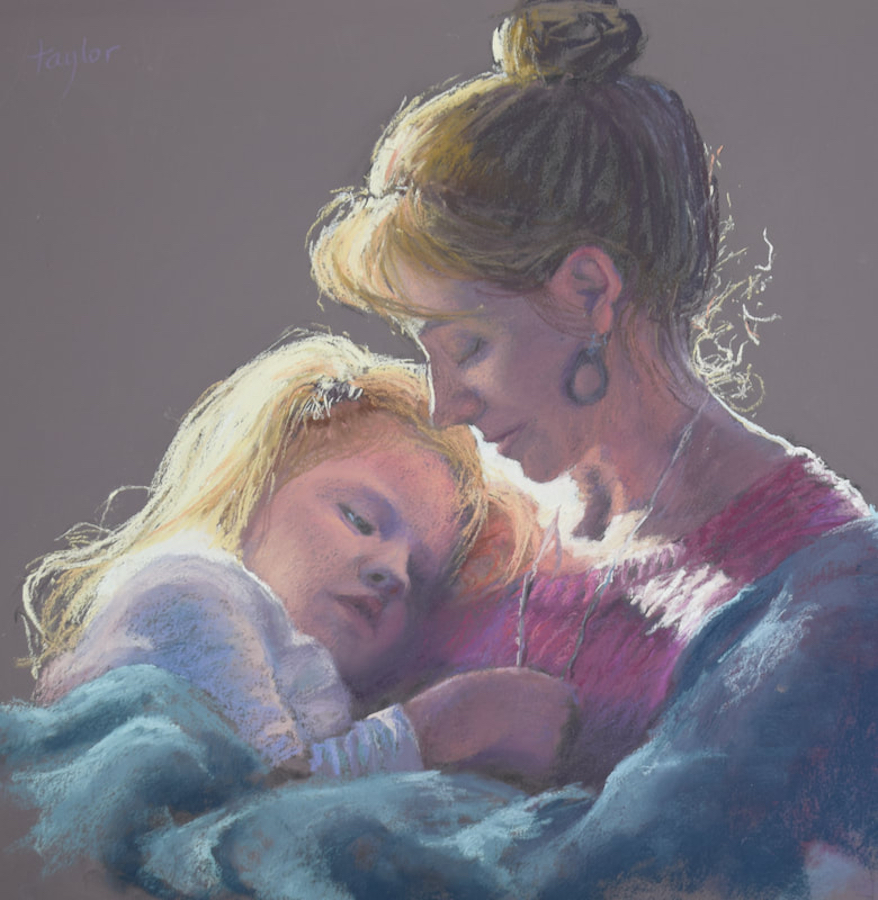 Pastel Portraits - Mixing Skin Tones in Pastel | Tricia Taylor