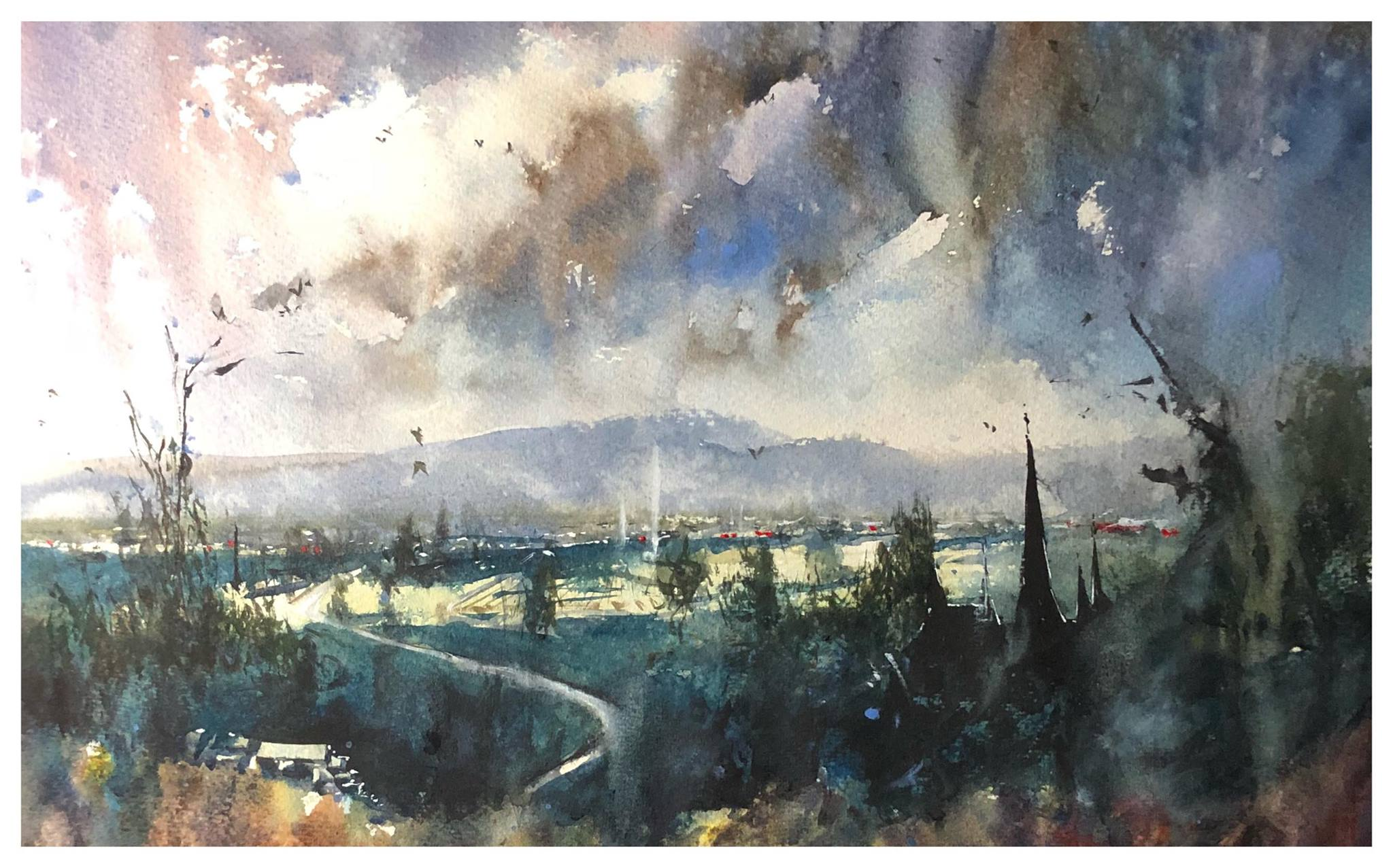 Confident Watercolours Introduction | Tony White
