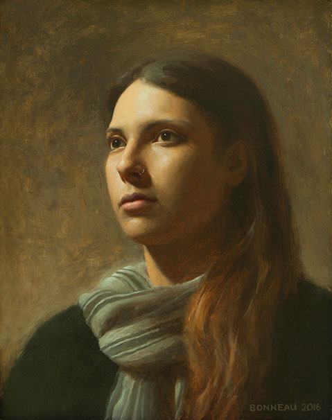 A Portrait from Life in Oils | Andrew Bonneau