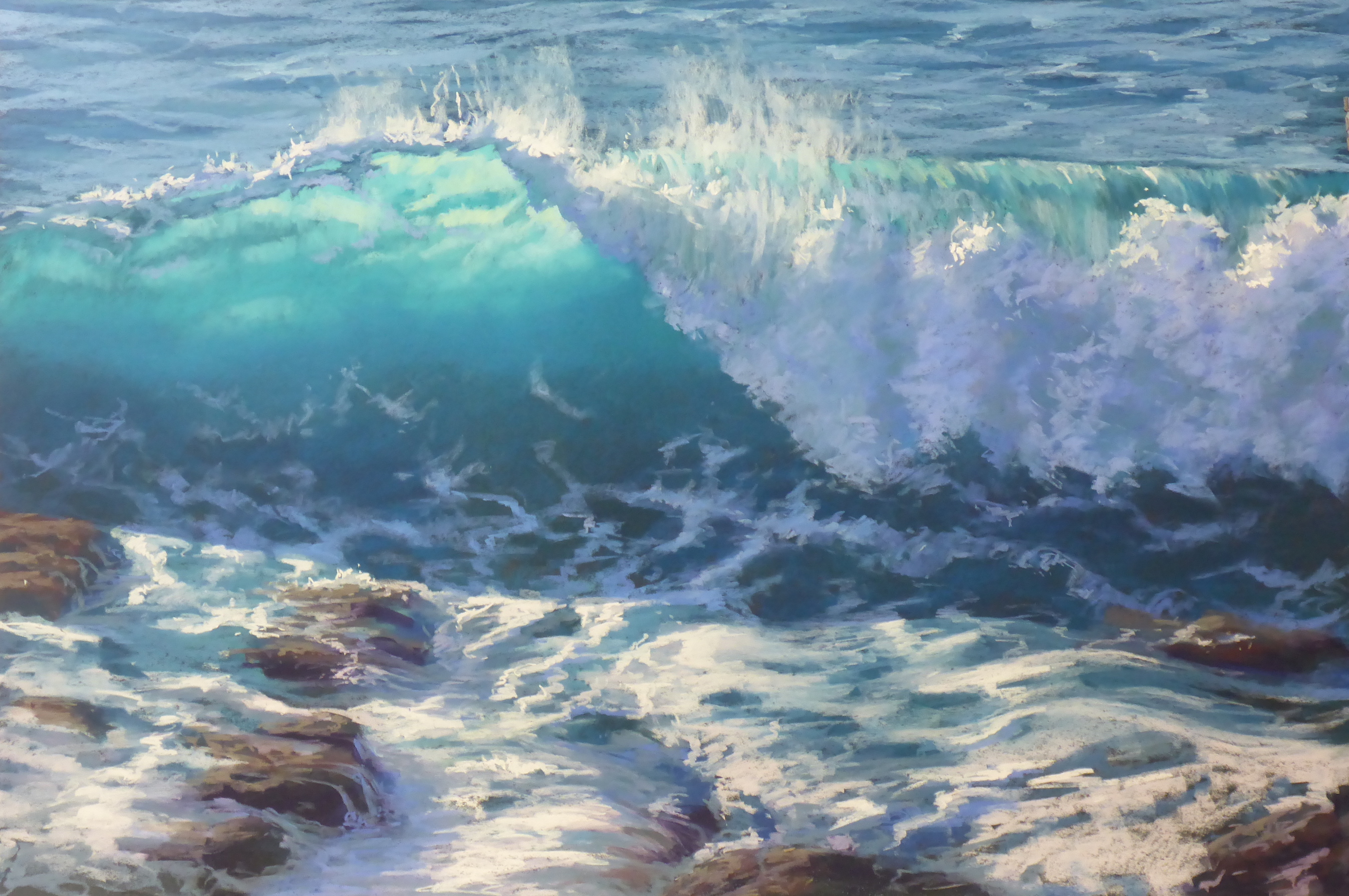Finding Your Flow in Pastel  - Seascapes 101 | Tricia Taylor