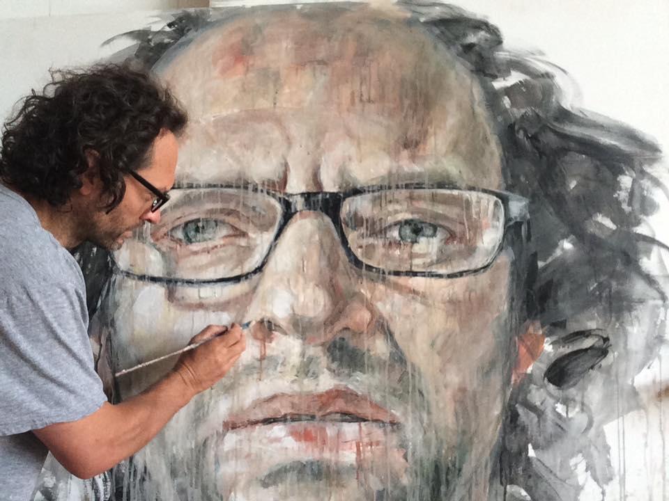 Portrait Demo in Acrylics | Daniel Butterworth
