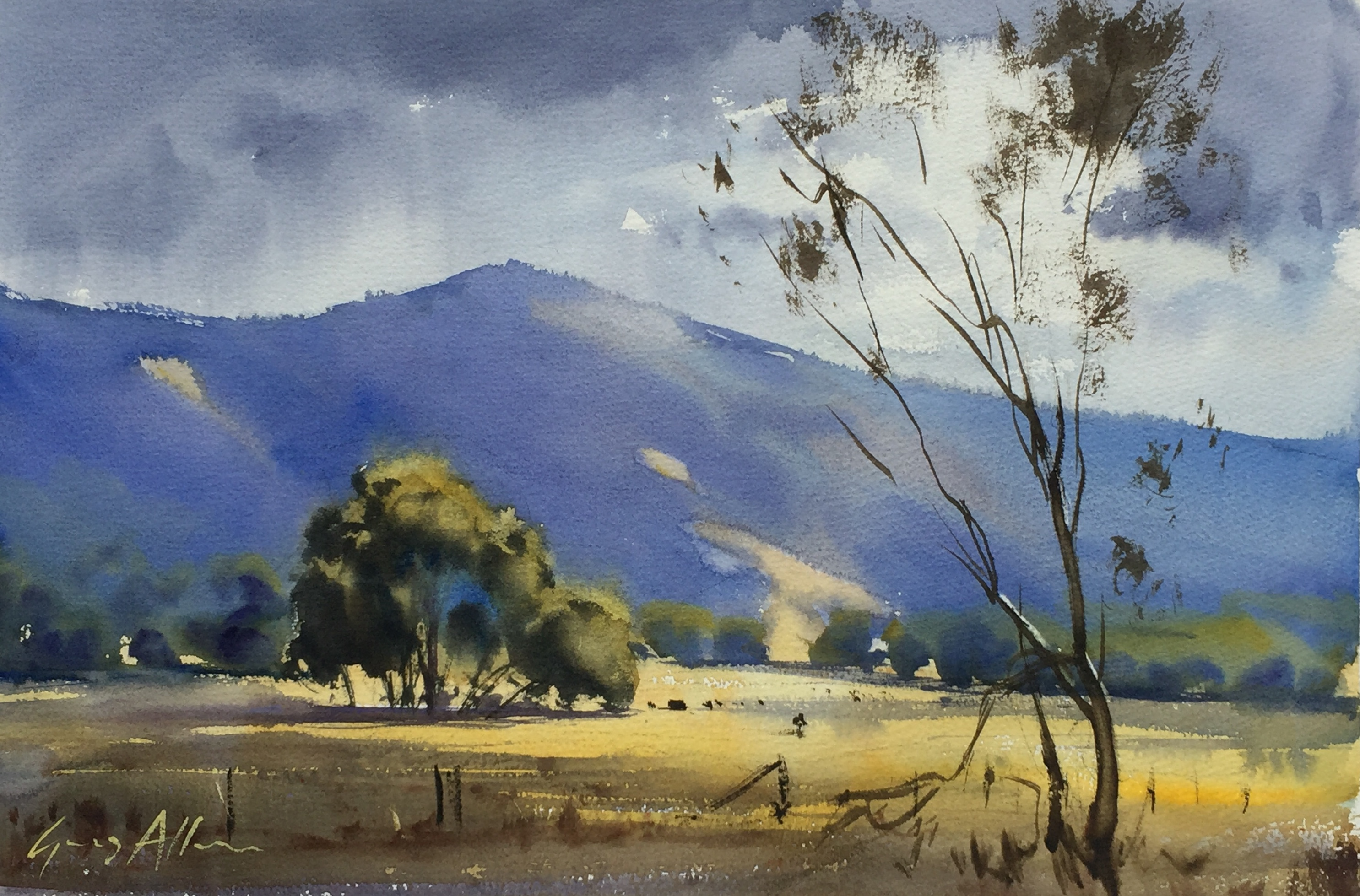 Watercolour Impressionism | Greg Allen