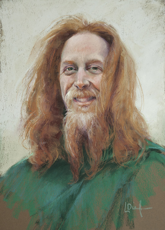 Portrait in Pastels | Lyn Diefenbach