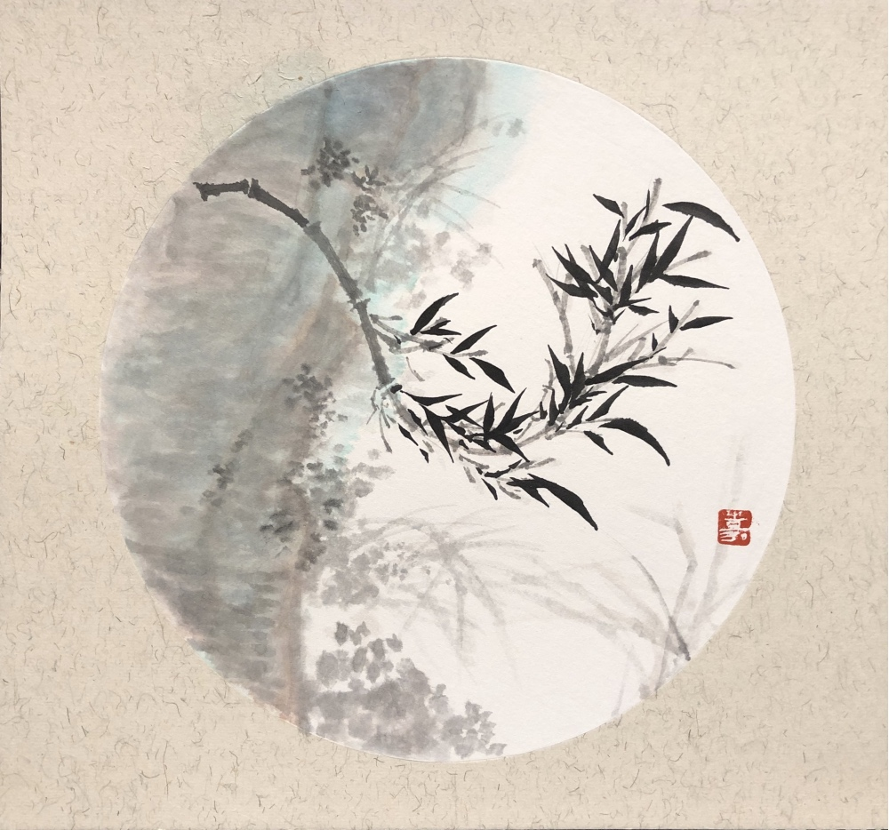 Bamboo in Ink and Composition | Silka Huang
