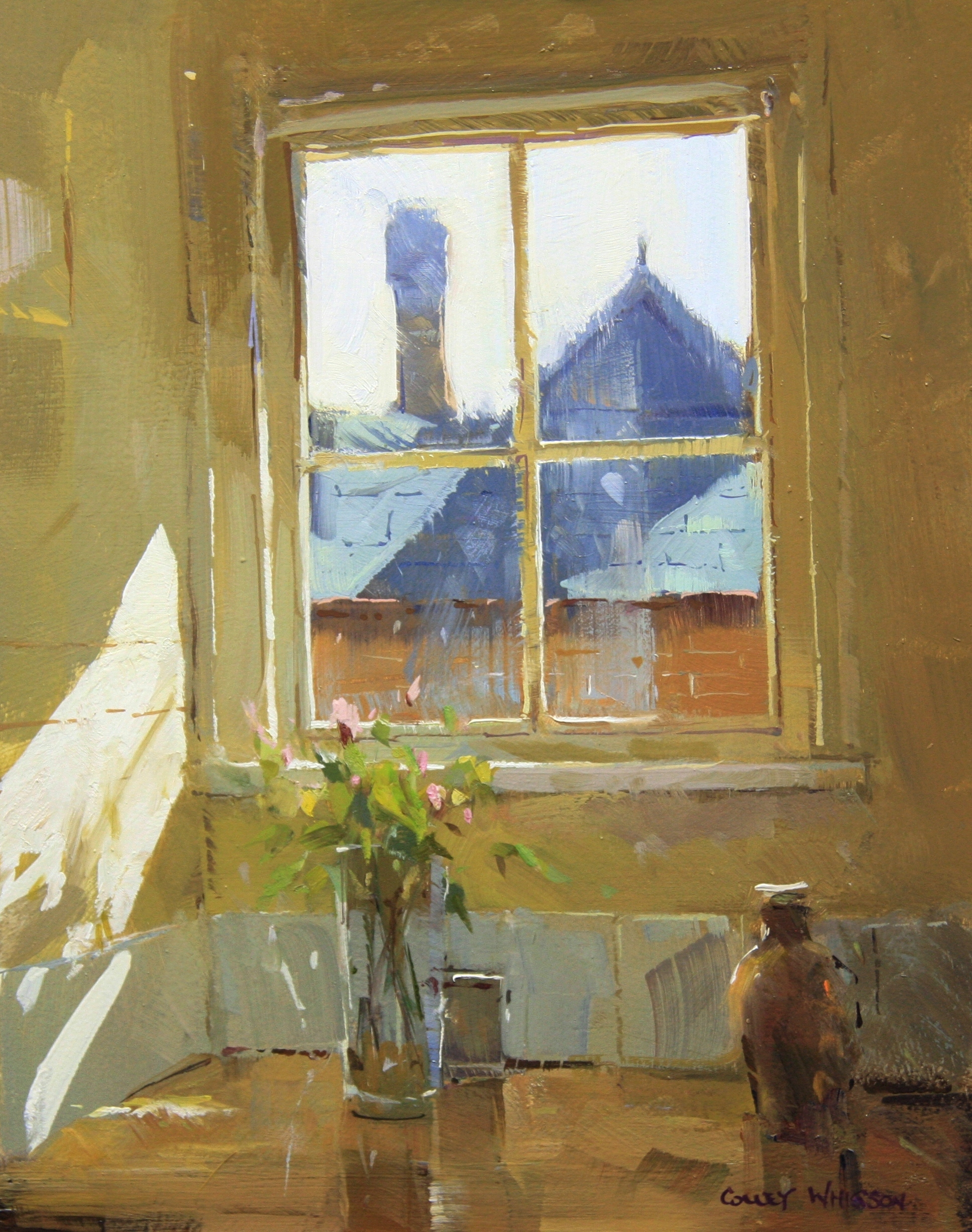 Modern Impressionism in Action - Still Life | Colley Whisson