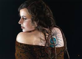 Portrait in Pastels  Large Scale | David Wells