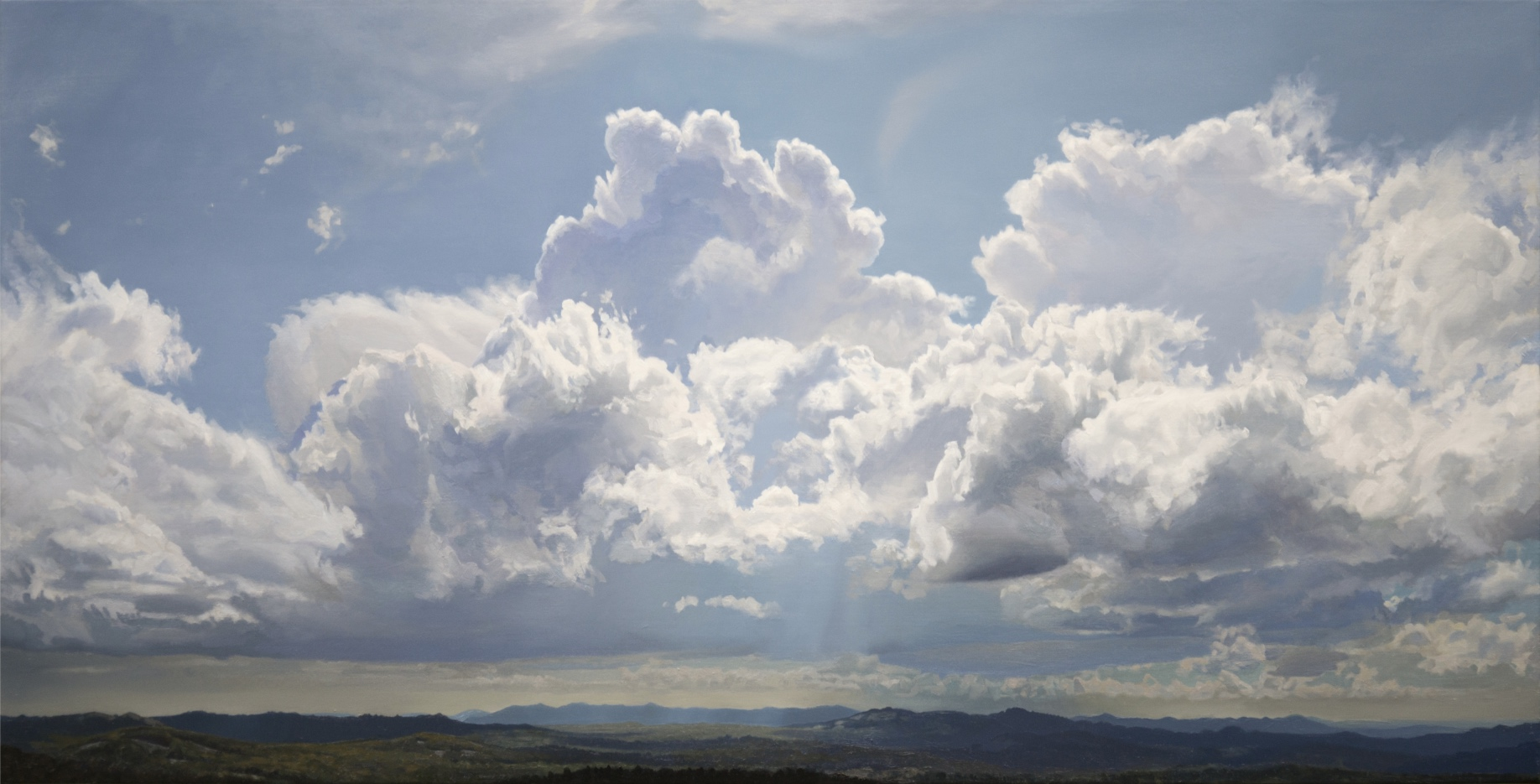 Cloudscapes in Oils | Hobie Porter