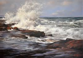 Seascapes in Oils | Lyn Diefenbach