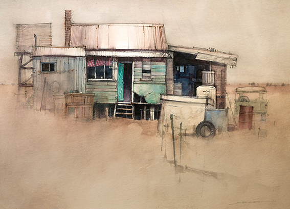 A Fresh Approach with Mixed Media | John Lovett