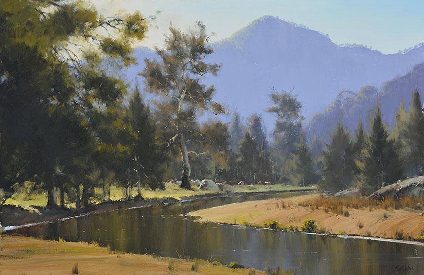 Australian Landscape in Oils with John Wilson