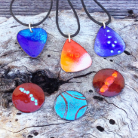 Enamel Pendant Workshop