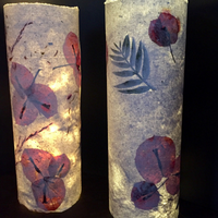 Making Handmade Paper and Tealights
